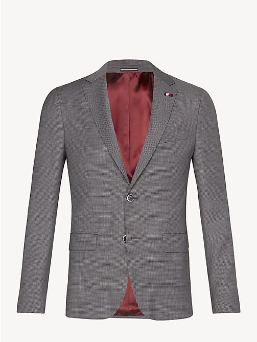TOMMY HILFIGER Virgin Wool Slim Fit Blazer - CLOUDBURST - TOMMY HILFIGER Something Special - detail image 1
