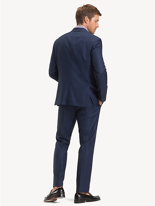 TOMMY HILFIGER TH Flex Wool Regular Fit Suit - MEDIVAL BLUE - TOMMY HILFIGER Suits - detail image 1