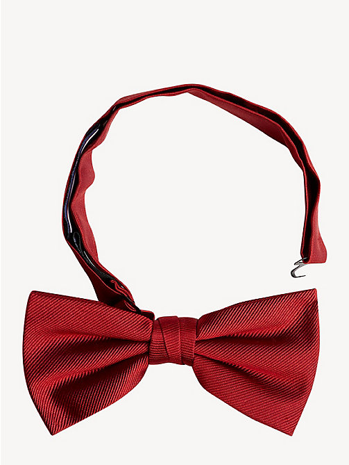 TOMMY HILFIGER Pure Silk Adjustable Bow Tie - SALSA RED - TOMMY HILFIGER Stocking Stuffers - main image