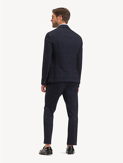 TOMMY HILFIGER TH Flex Check Slim Fit Suit - MIDNIGHT BLUE - TOMMY HILFIGER Suits - detail image 1