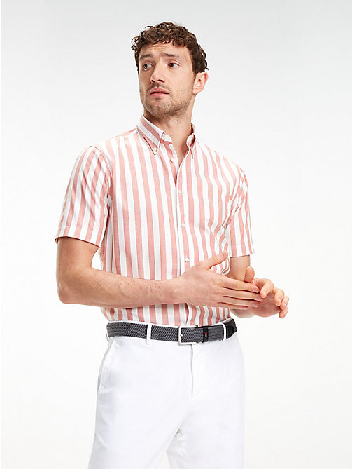 876a5f45c25a96 TOMMY HILFIGERStripe Short Sleeve Shirt. £95.00. NEW