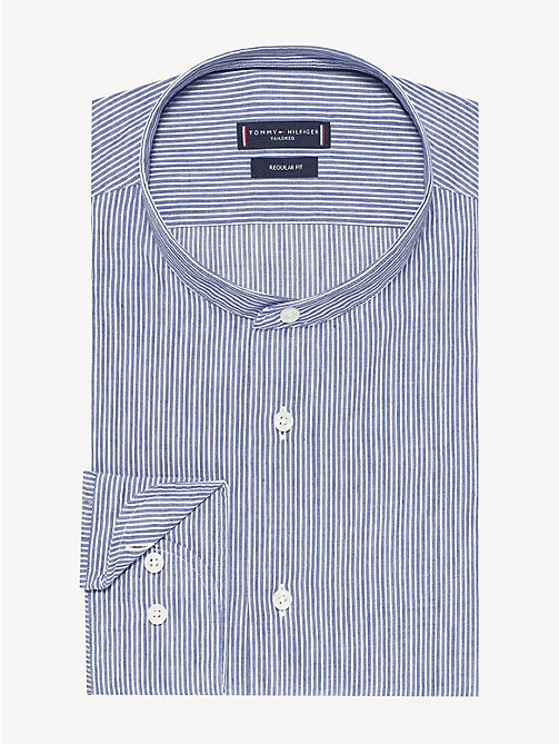 edcb6bcc3568 TOMMY HILFIGERIthaca Stripe Upright Collar Shirt