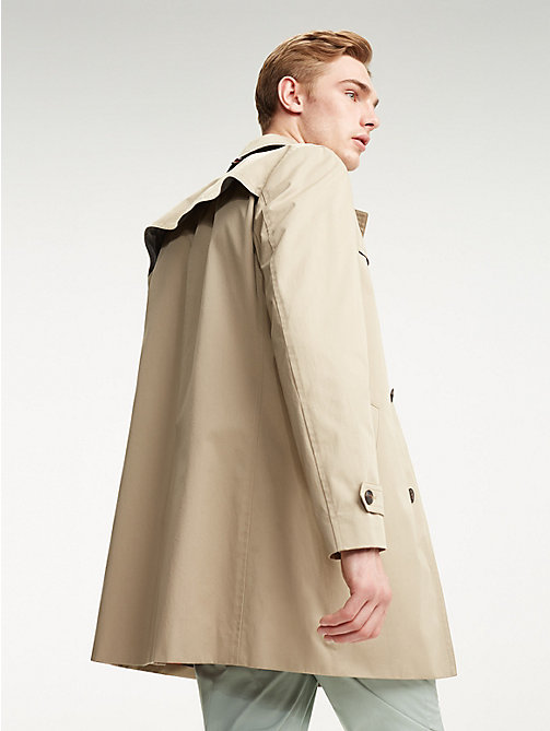 TOMMY HILFIGER Point Collar Utility Coat - BEIGE - TOMMY HILFIGER Coats & Jackets - detail image 1