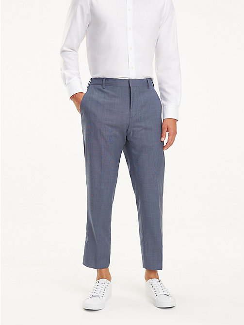 TOMMY HILFIGER Slim Virgin Wool Suit Trousers - RIVIERA - TOMMY HILFIGER Suit Separates - main image