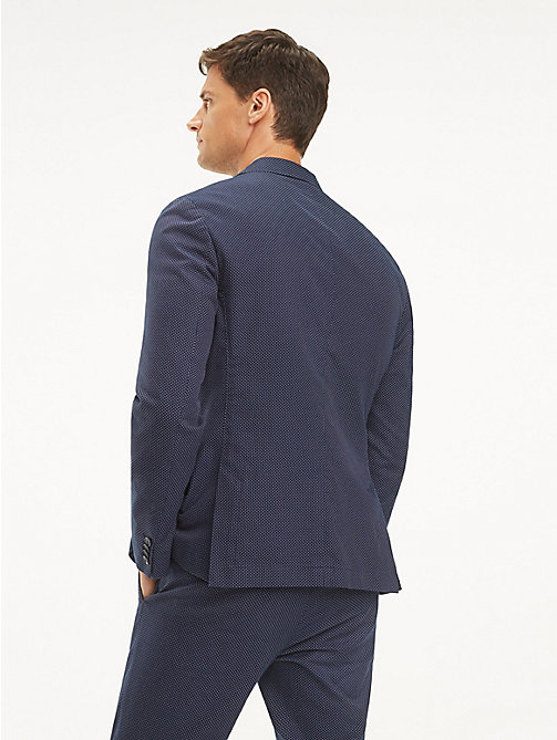 TOMMY HILFIGER Flexible Slim Fit Blazer - SKY CAPTAIN - TOMMY HILFIGER Blazers - detail image 1