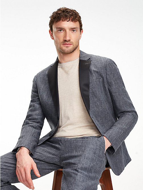 TOMMY HILFIGERCompleto tuxedo slim fit in lino d661edaaef1