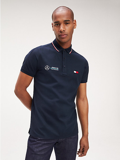 low priced 394f9 a742c Men's Polo Shirts | Tommy Hilfiger® UK