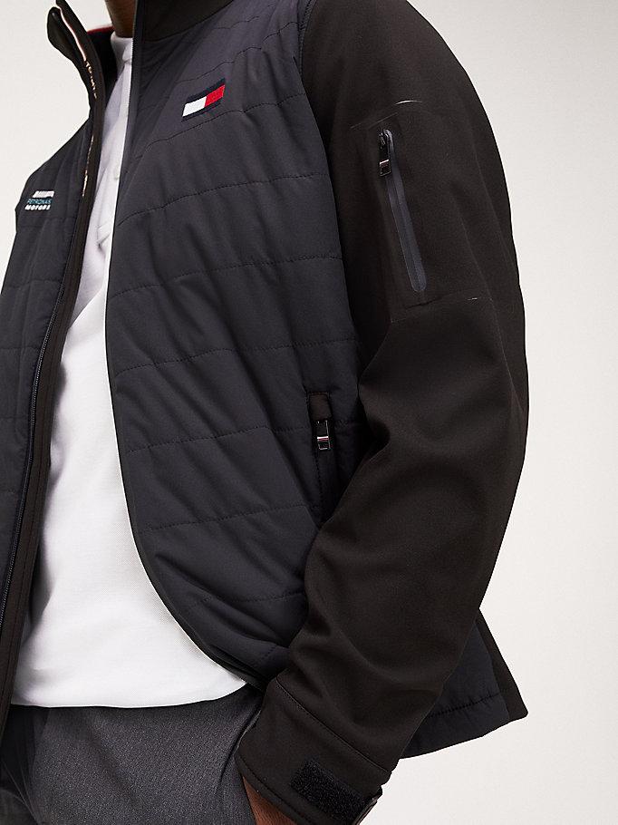 Veste zippée Mercedes Benz à logos