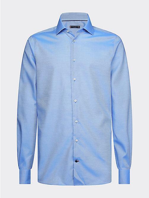Chemise à carreaux Tommy Hilfiger grande taille en coton marron