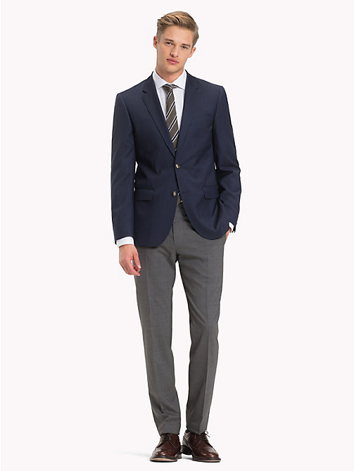 TOMMY HILFIGER Pure Virgin Wool Two Button Jacket - 019 - TOMMY HILFIGER Suit Separates - detail image 1