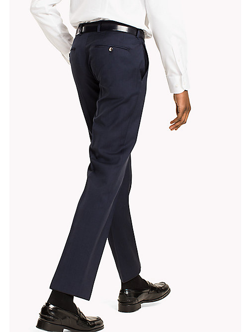 TOMMY HILFIGER Fitted Suit Separate Trousers - 019 - TOMMY HILFIGER Suit Separates - detail image 1