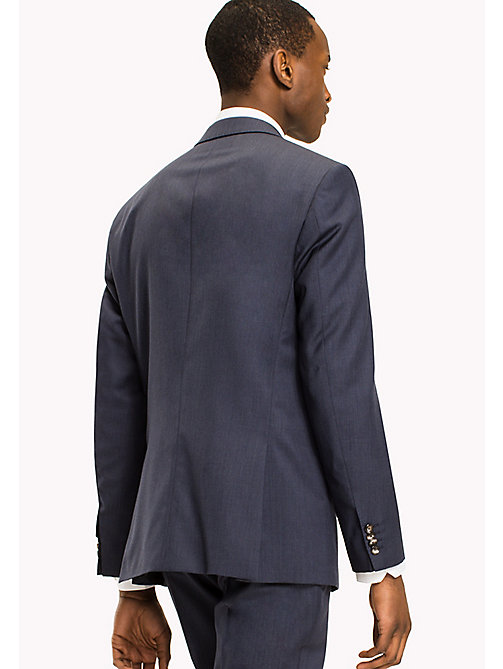 TOMMY HILFIGER Butch Wool Fitted Blazer - 425 - TOMMY HILFIGER Tailored - detail image 1