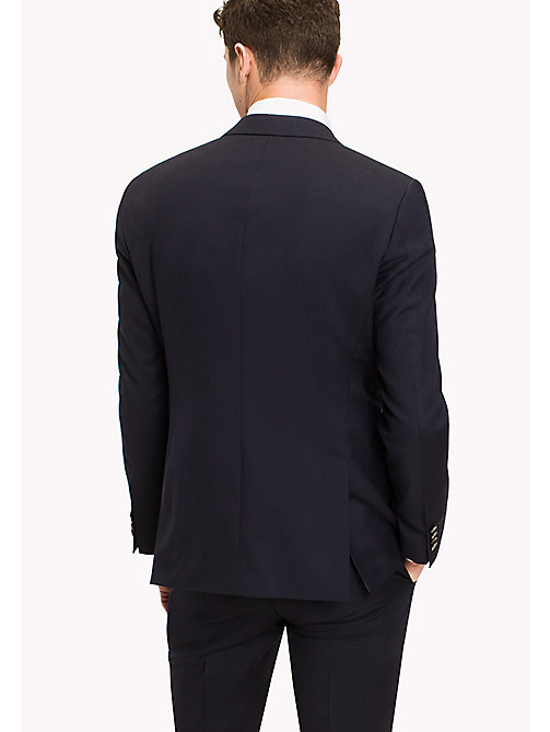TOMMY HILFIGER Single Breasted Virgin Wool Blazer - 427 -  Tailored - detail image 1