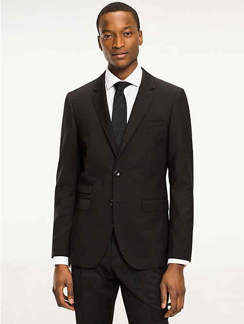 TOMMY HILFIGER Rebel Wool Fitted Blazer - 099 - TOMMY HILFIGER Tailored - main image