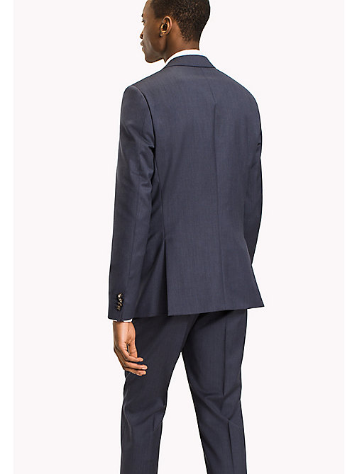 TOMMY HILFIGER Slim Fit Virgin Wool Blazer - 425 - TOMMY HILFIGER Suit Separates - detail image 1