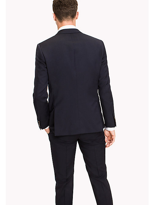 TOMMY HILFIGER Slim Fit Virgin Wool Blazer - 427 - TOMMY HILFIGER Tailored - detail image 1