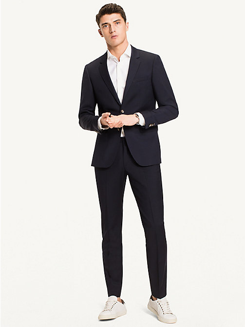 TOMMY HILFIGER Slim Fit Virgin Wool Blazer - 427 - TOMMY HILFIGER Blazers - detail image 1