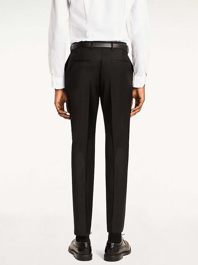 TOMMY HILFIGER Steel Wool Slim Fit Trousers - 427 - TOMMY HILFIGER Clothing - detail image 1