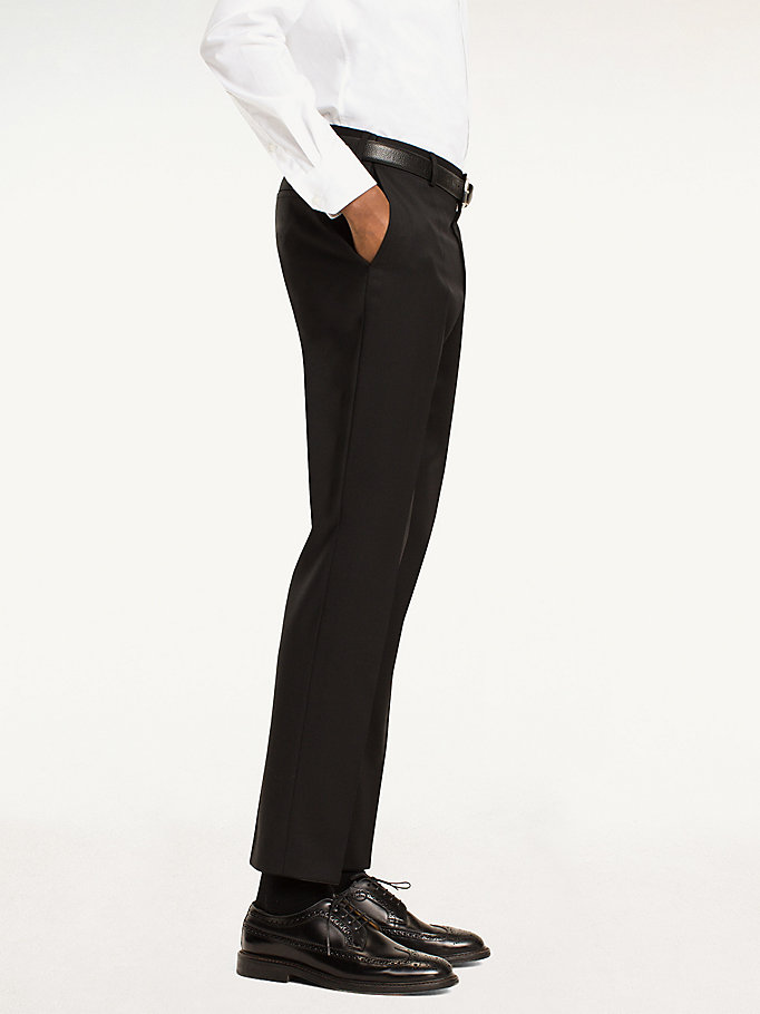 TOMMY HILFIGER Steel Wool Slim Fit Trousers - 427 - TOMMY HILFIGER Clothing - detail image 2