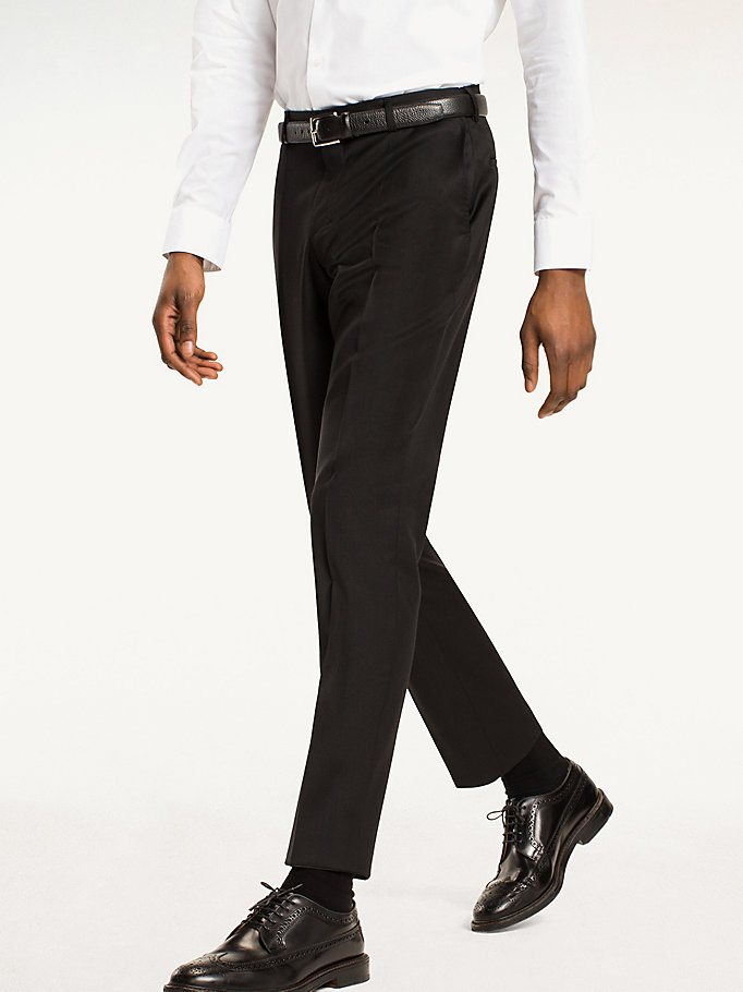 TOMMY HILFIGER Steel Wool Slim Fit Trousers - 427 - TOMMY HILFIGER Clothing - main image