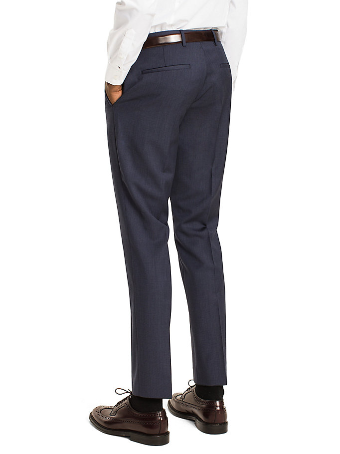 TOMMY HILFIGER Steel Wool Slim Fit Trousers - 099 - TOMMY HILFIGER Clothing - detail image 1