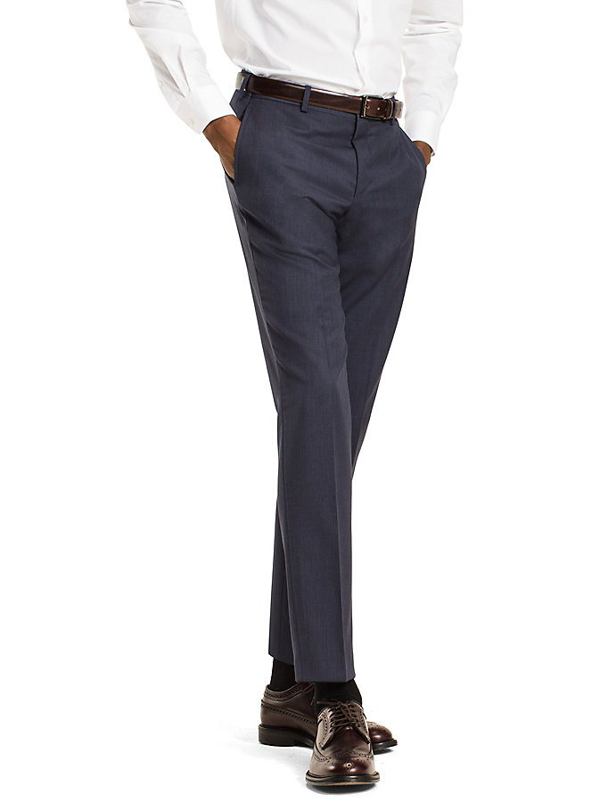 TOMMY HILFIGER Steel Wool Slim Fit Trousers - 099 - TOMMY HILFIGER Clothing - main image