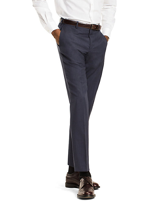 TOMMY HILFIGER Slim Fit Trousers - 425 - TOMMY HILFIGER Suit Separates - main image
