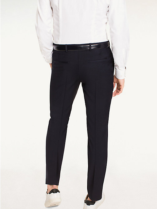 TOMMY HILFIGER Steel Wool Slim Fit Trousers - 427 - TOMMY HILFIGER Suit Separates - detail image 1