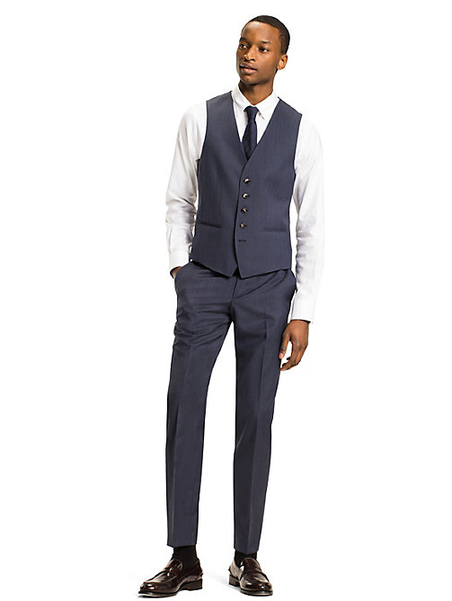 TOMMY HILFIGER Webster Waistcoat - 425 - TOMMY HILFIGER Suit Separates - detail image 1