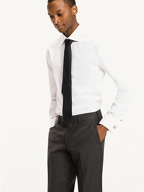 TOMMY HILFIGER Fitted Double Cuff Shirt - 100 - TOMMY HILFIGER Tailored - detail image 1