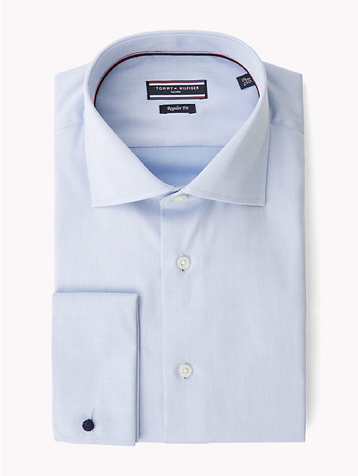 TOMMY HILFIGER Johnny Double Cuff Fitted Shirt - 410 - TOMMY HILFIGER Tailored - main image