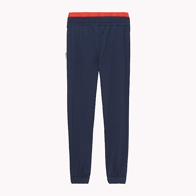 TOMMY HILFIGER JERSEY TRACK PANT - DARK GREY HEATHER - TOMMY HILFIGER Clothing - detail image 1