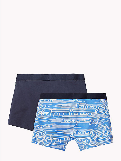 TOMMY HILFIGER 2-Pack Cotton Trunks - MARINA/NAVY BLAZER - TOMMY HILFIGER Underwear & Sleepwear - detail image 1