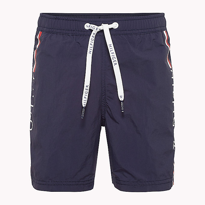 TOMMY HILFIGER Drawstring Swim Shorts - BUTTERCUP - TOMMY HILFIGER Men - main image