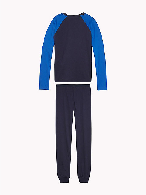TOMMY HILFIGER Colour-Blocked Pyjamas - NAVY BLAZER/NAVY BLAZER - TOMMY HILFIGER Underwear & Socks - detail image 1