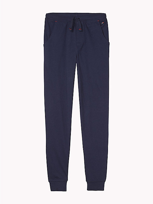 TOMMY HILFIGER Joggers in jersey di cotone - NAVY BLAZER - TOMMY HILFIGER Intimo & Calzini - immagine principale