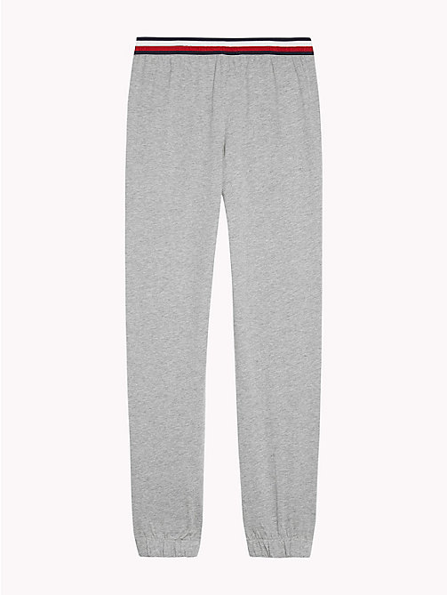TOMMY HILFIGER Signature Waistband Joggers - GREY HEATHER - TOMMY HILFIGER Boys - detail image 1