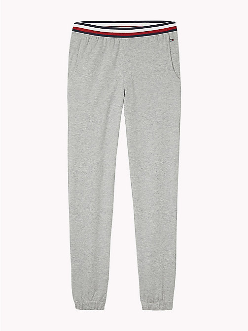 TOMMY HILFIGER Joggingbroek met signature-tailleband - GREY HEATHER - TOMMY HILFIGER Jongens - main image