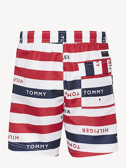 ccabe78eca blue stripe logo swim shorts for boys tommy hilfiger. -30%