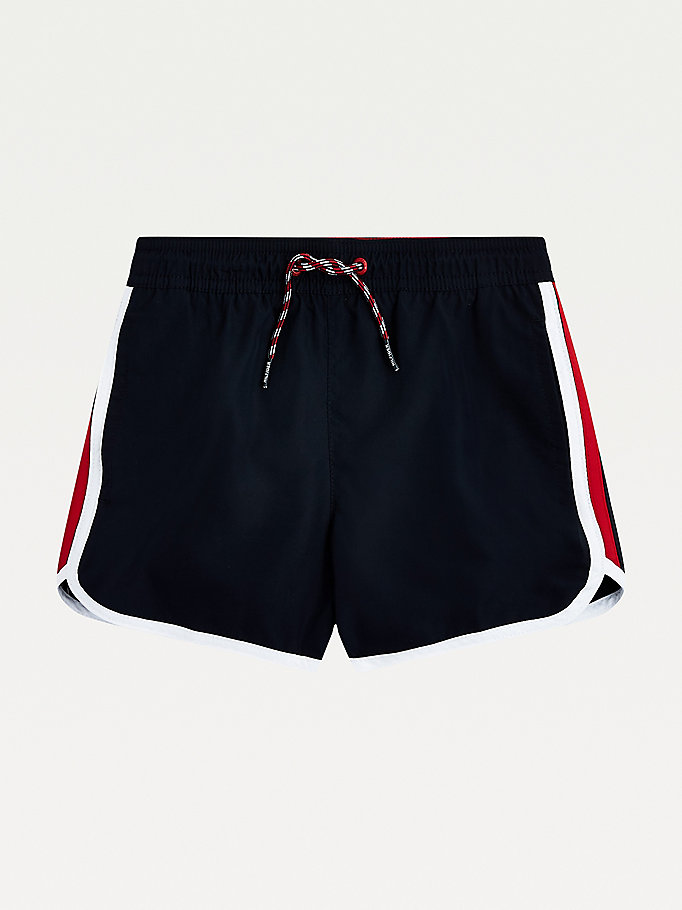 blue runner swim shorts for boys tommy hilfiger
