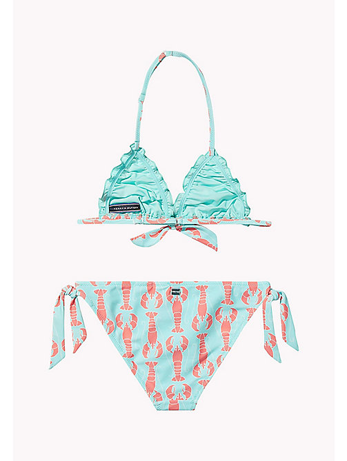 TOMMY HILFIGER Lobster Print Bikini Set - LOBSTER PRINT ARUBA BLUE -  Swim styles - detail image 1