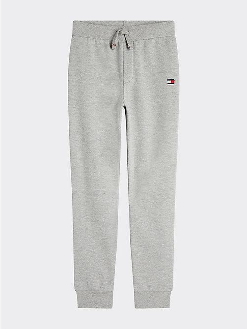 Pantalon de survêtement en coton bouclé blanc Tommy