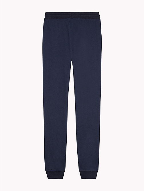 TOMMY HILFIGER Tapered Leg Jogging Bottoms - NAVY BLAZER - TOMMY HILFIGER Girls - detail image 1
