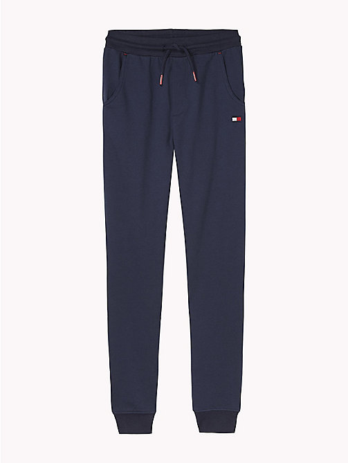 TOMMY HILFIGER Tapered Leg Jogging Bottoms - NAVY BLAZER - TOMMY HILFIGER Boys - main image
