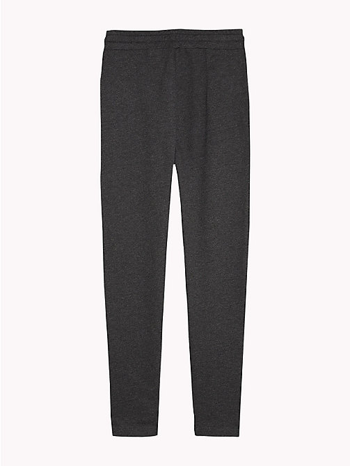 TOMMY HILFIGER Drop Crotch Jogging Bottoms - DARK GREY HTR - TOMMY HILFIGER Underwear & Socks - detail image 1