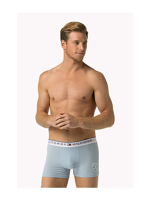 TOMMY HILFIGER Cotton Crest Trunk - CHAMBRAY BLUE - TOMMY HILFIGER Trunks - main image