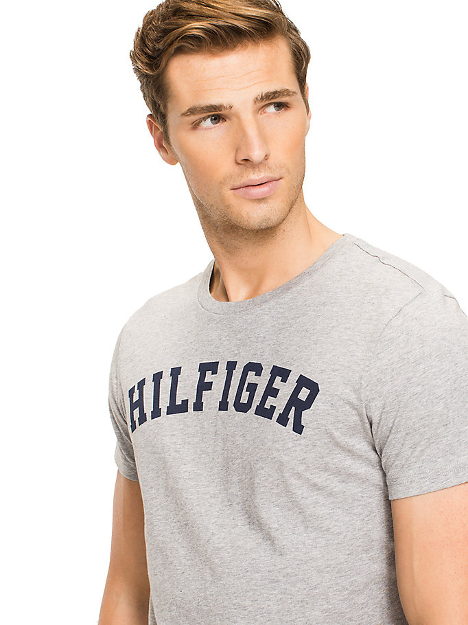 TOMMY HILFIGER Cotton Icon Crew Neck T-shirt - WHITE - TOMMY HILFIGER Clothing - detail image 2