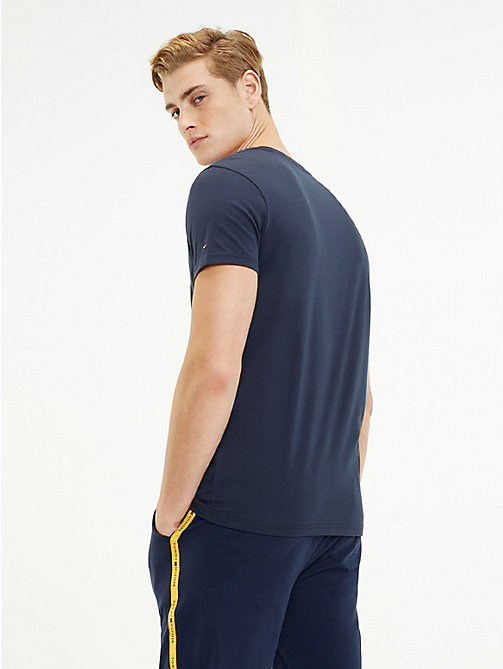 TOMMY HILFIGER Футболка с логотипом Tommy Hilfiger - CITRUS - TOMMY HILFIGER Sustainable Evolution - подробное изображение 1