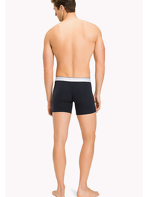 TOMMY HILFIGER Cotton Trunks - NAVY BLAZER - TOMMY HILFIGER Underwear - detail image 1