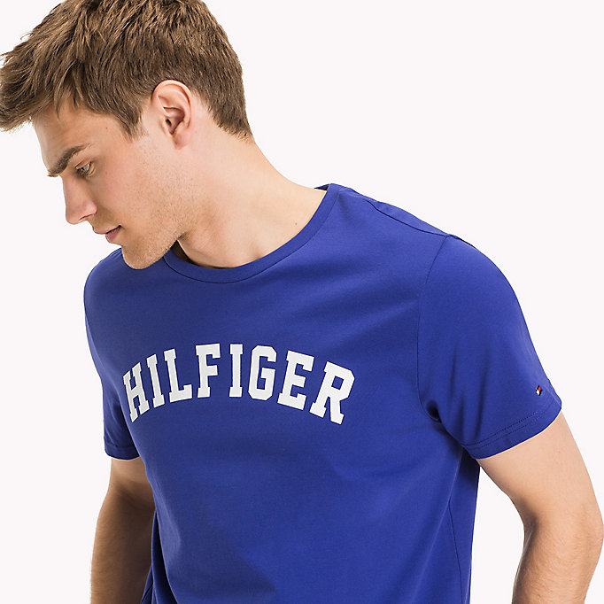 TOMMY HILFIGER Organic Cotton Lounge T-Shirt - CHRYSANTHEMUM - TOMMY HILFIGER Clothing - detail image 2